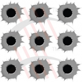 Sticker Bullet Cartus