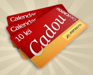 Calendar de buzunar - card cadou