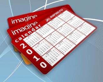 Calendar de buzunar cu imagine