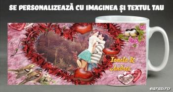 Cana personalizata pentru indragostiti - love 09