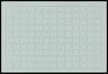 Puzzle A4 cu rama 99 piese
