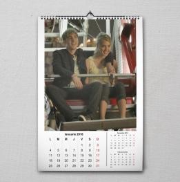 Calendar A5 personalizat cu poza ta - V54