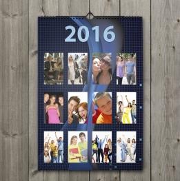 Calendar A3 personalizat cu poza ta - V55