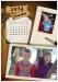 Calendar A4 personalizat cu poza ta - V58