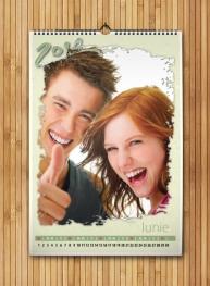 Calendar A3 personalizat cu poza ta - FV61