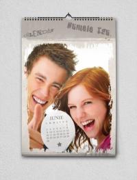 Calendar A4 personalizat cu poza ta - FV62