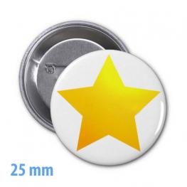 Insigna cu diametrul 25 mm