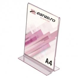 Suport Plexiglas A4 tip T