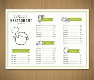 Meniu Restaurant 02
