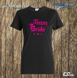 Tricou Team Bride 1 negru