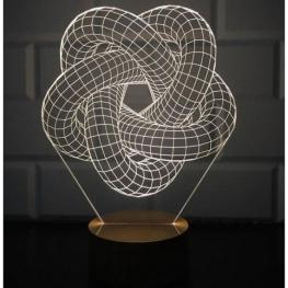 Trofeu in forma geometrica interesanta
